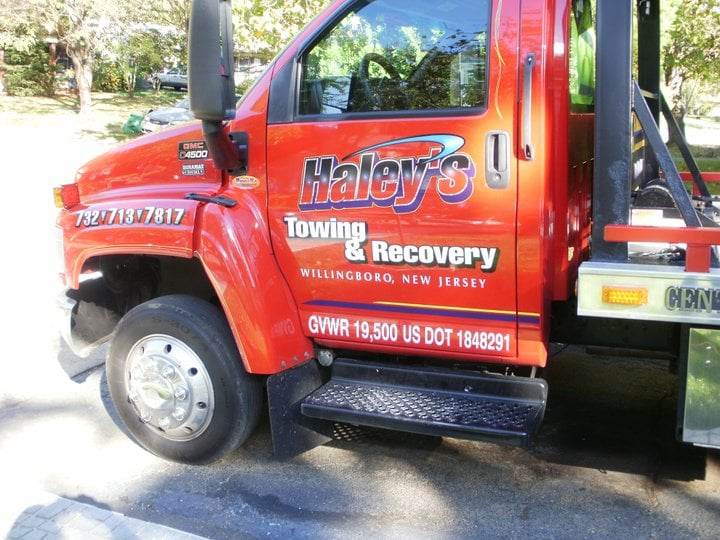 Haley's Towing and Automotive: 100 E Camden Ave, Moorestown, NJ
