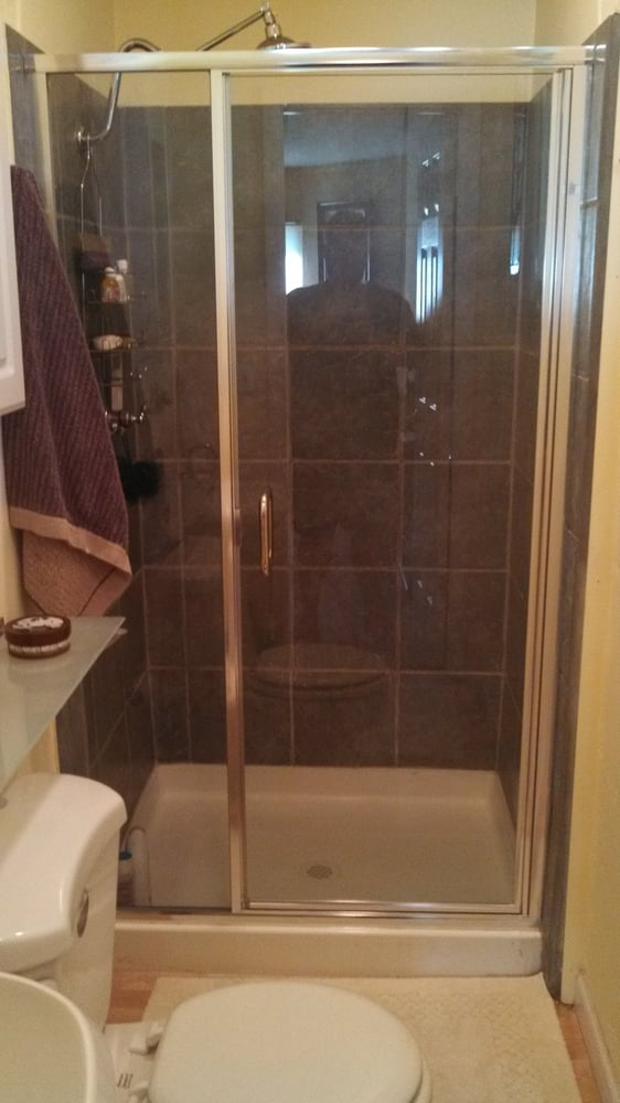 Love our new shower enclosure from American Mirador. Great price for ...