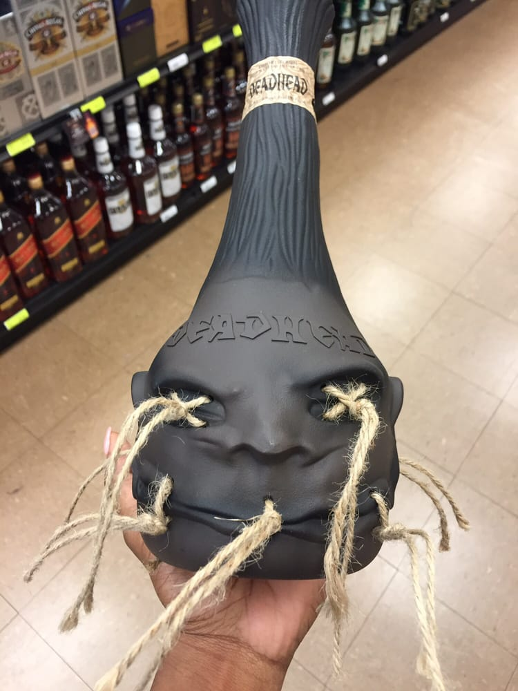Voodoo On You Deadhead Rum In A Creative Shrunken Head