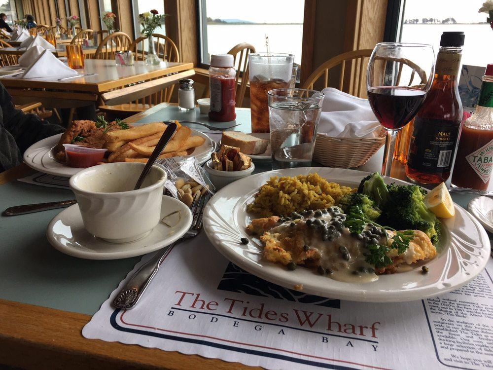 The Tides Wharf Restaurant: 835 Highway One, Bodega Bay, CA