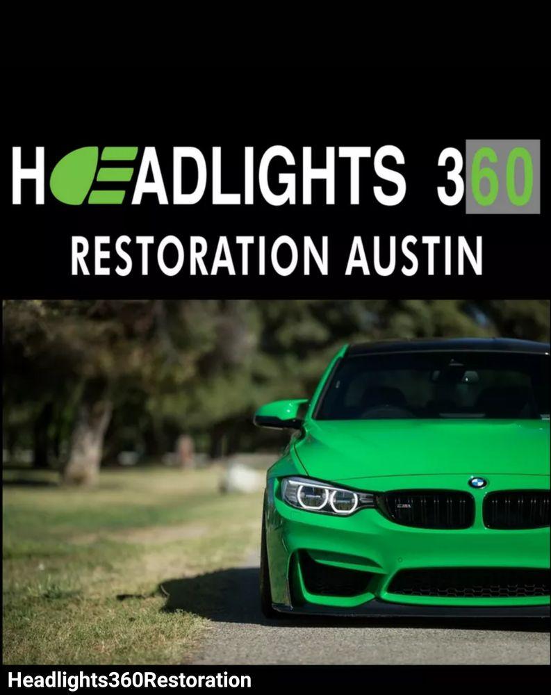 Headlight 360 Restoration Austin