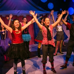 Photo of Jewish Community High School of the Bay - San Francisco, CA, United States. JCHS students perform in a production of Pippin