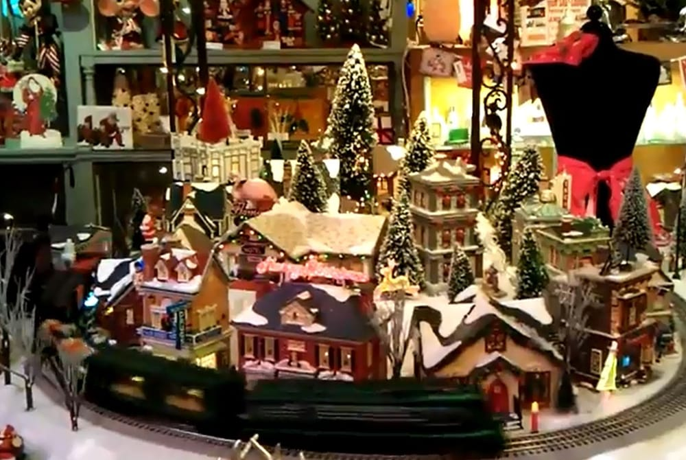 photo of fancy that of san marino san marino ca united states - Miniature Christmas Town Decorations