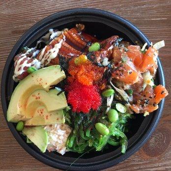 Island plate lunch 120 photos 92 reviews hawaiian for Fish me poke menu