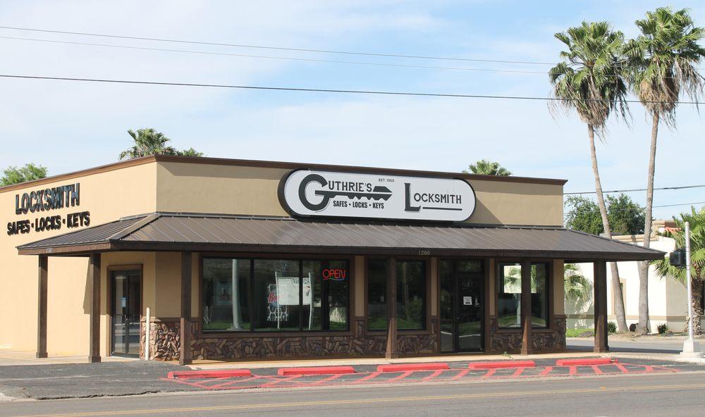 Guthrie's Locksmith: 1200 Pecan Blvd, McAllen, TX