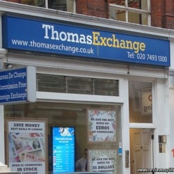 thomas exchange uk ferm bureau de change 13 maddox street mayfair londres london. Black Bedroom Furniture Sets. Home Design Ideas