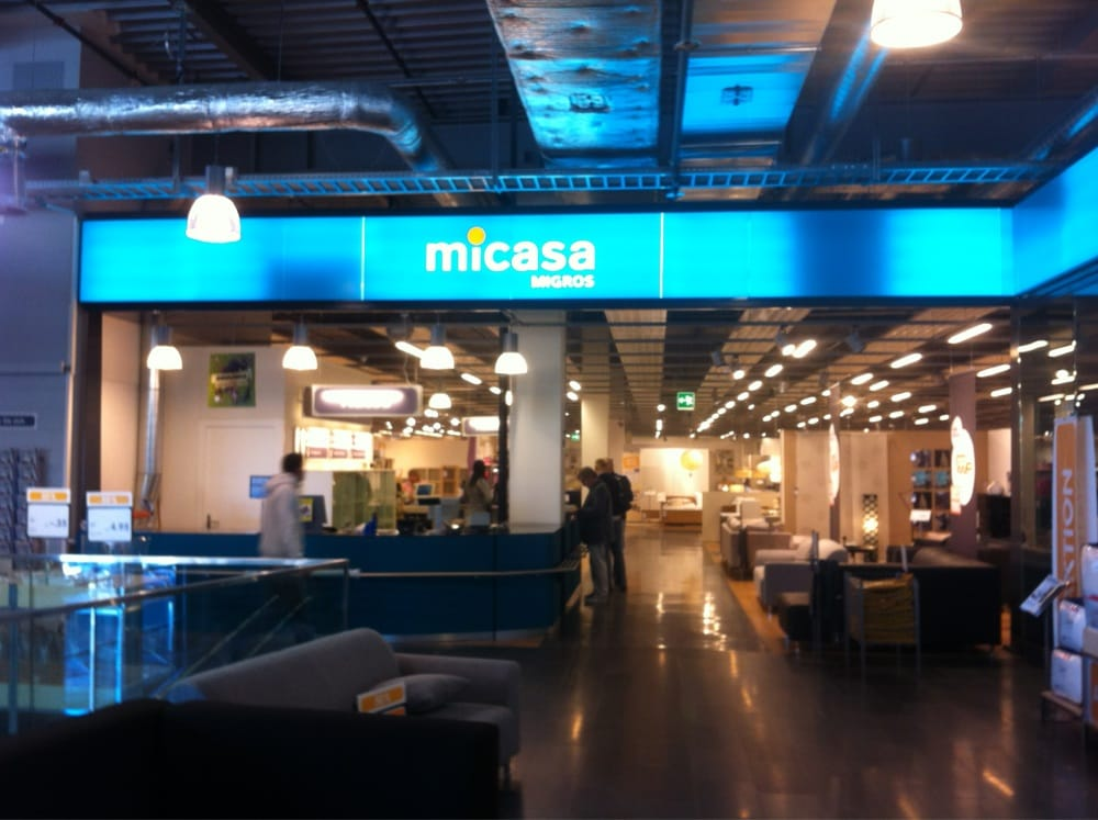 Micasa migros magasin de meuble industriestrasse 10 for Migros meubles