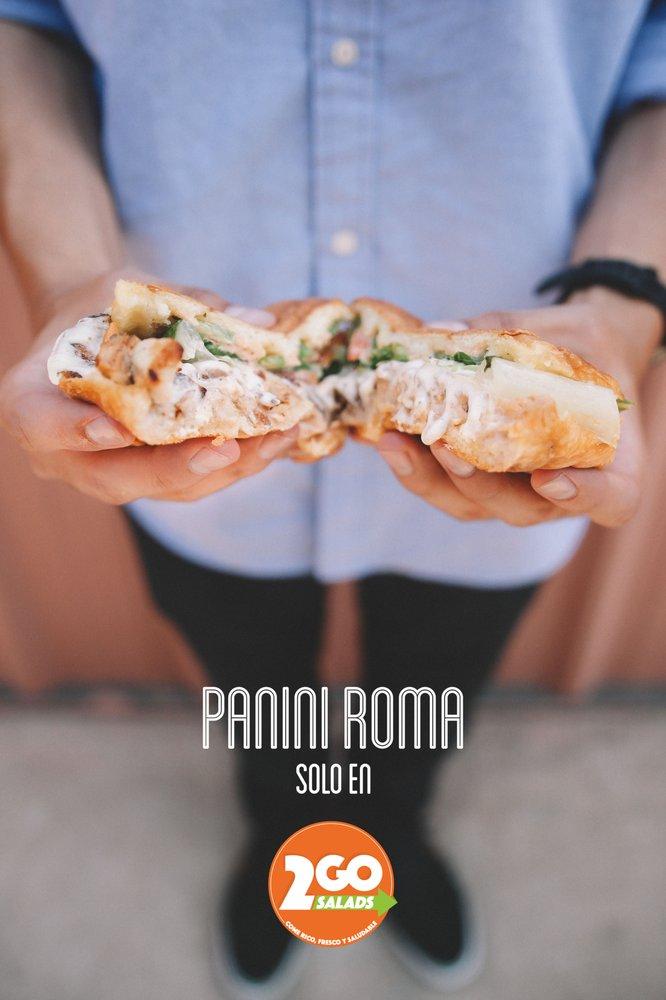 2GO Salads: 210 E Cole Blvd, Calexico, CA