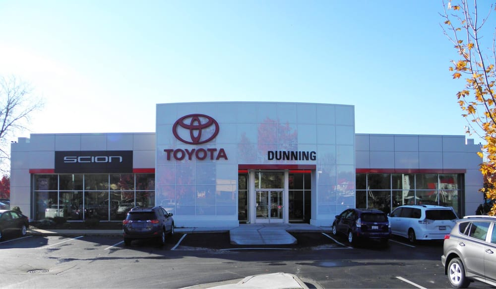 Dunning Toyota New Toyota Dealership In Ann Arbor Mi 48103
