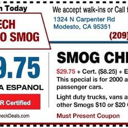 Photo Of Az Tech Smog Modesto Ca United States Check Station