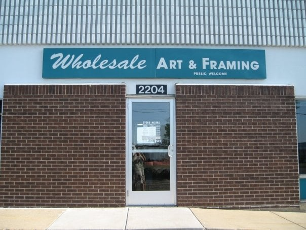 Wholesale Art & Framing: 2204 W 94th St, Bloomington, MN