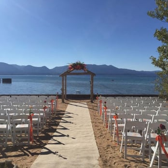 Photo Of Weddings At Lakeside Beach South Lake Tahoe Ca United States