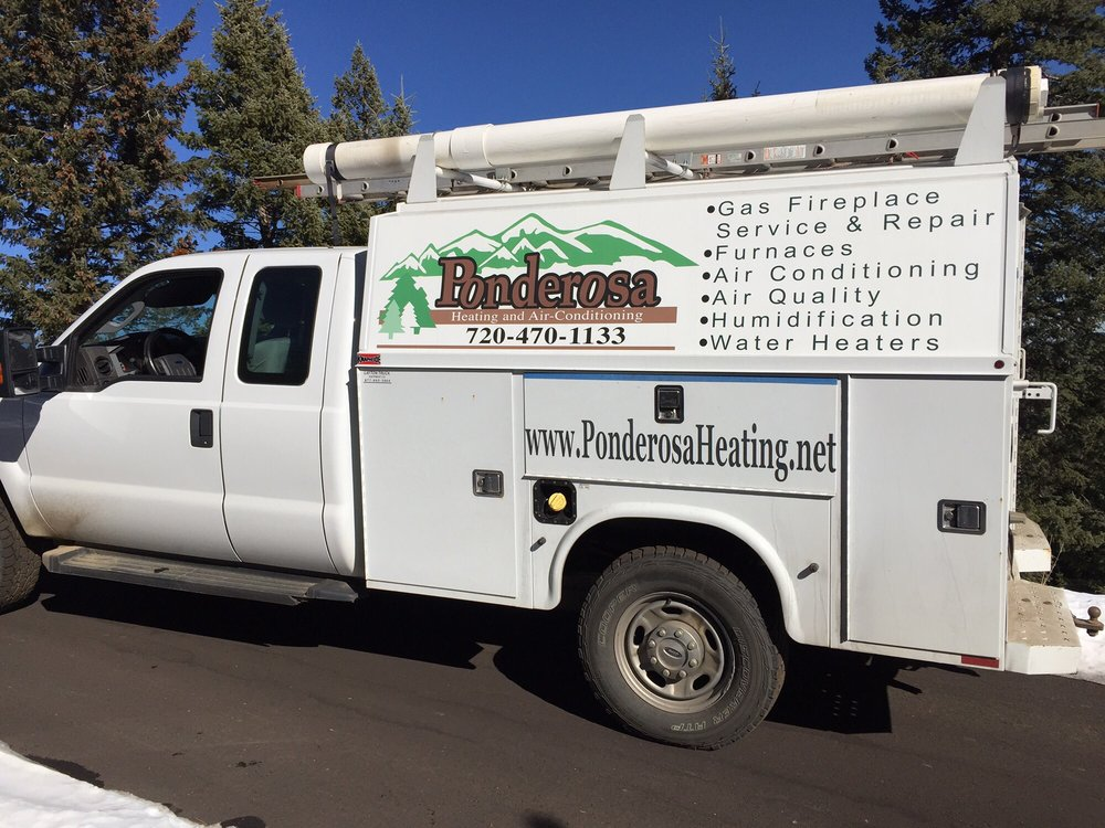 Ponderosa Heating & Air Conditioning: 1050 N Pine Dr, Bailey, CO