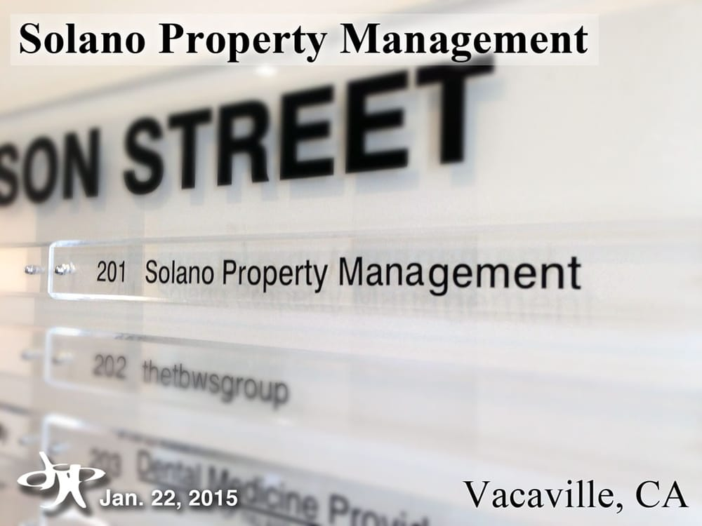 Solano Property Management Vacaville
