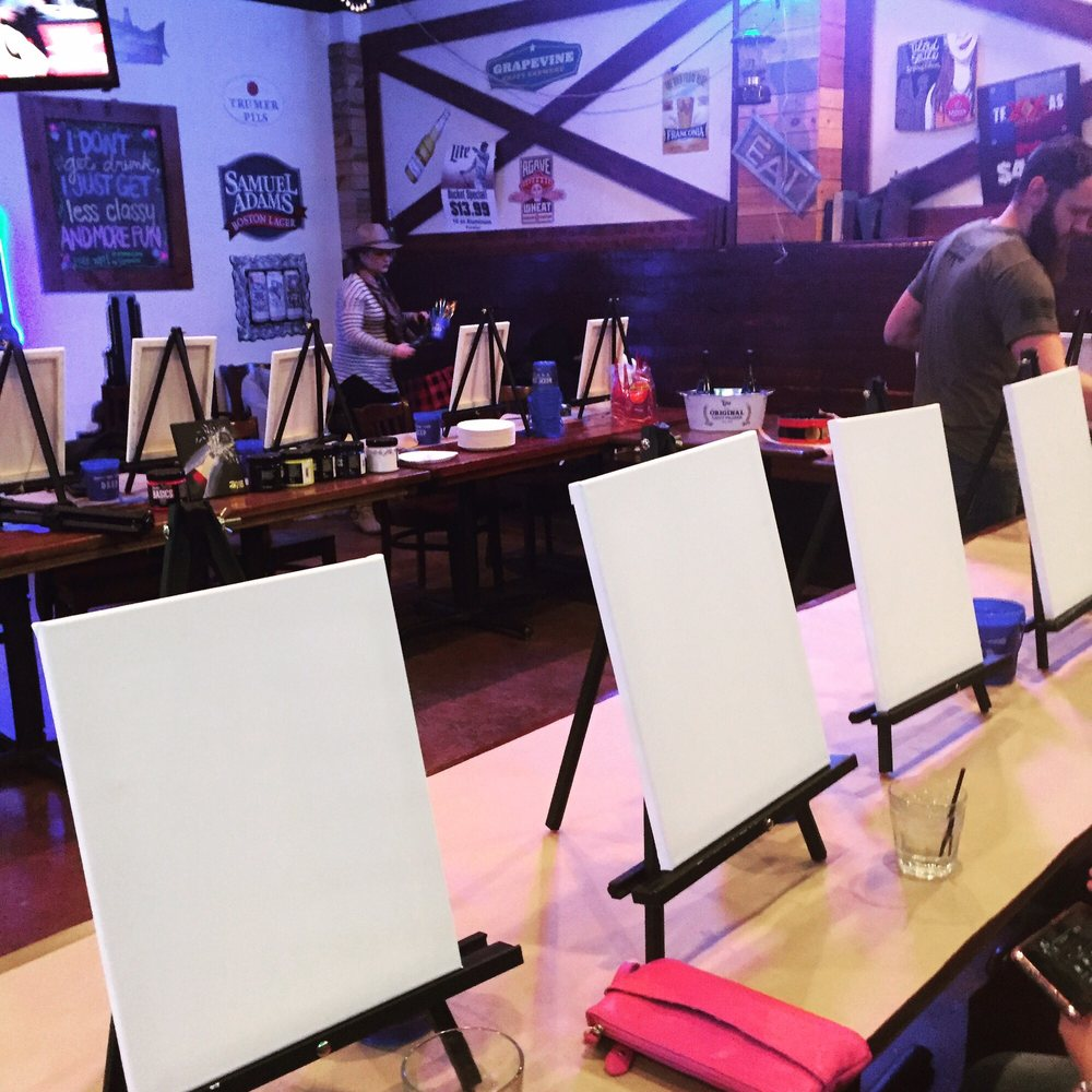 Candy's Paint 'n' Sip: 6205 Coit Rd, Plano, TX