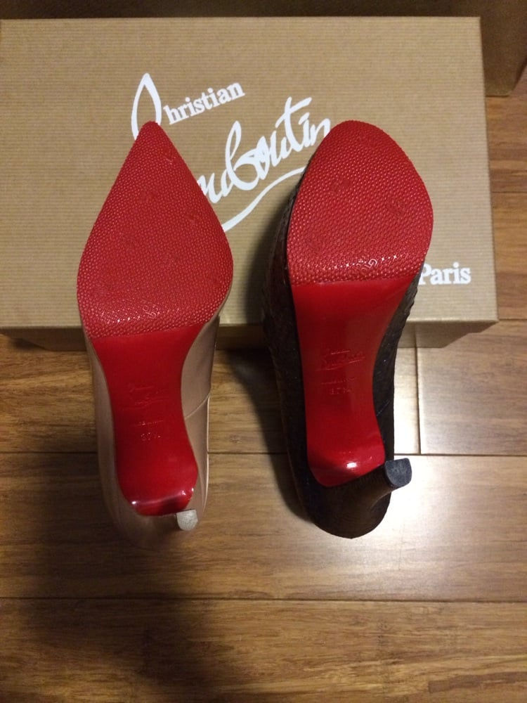 christian louboutin repair houston