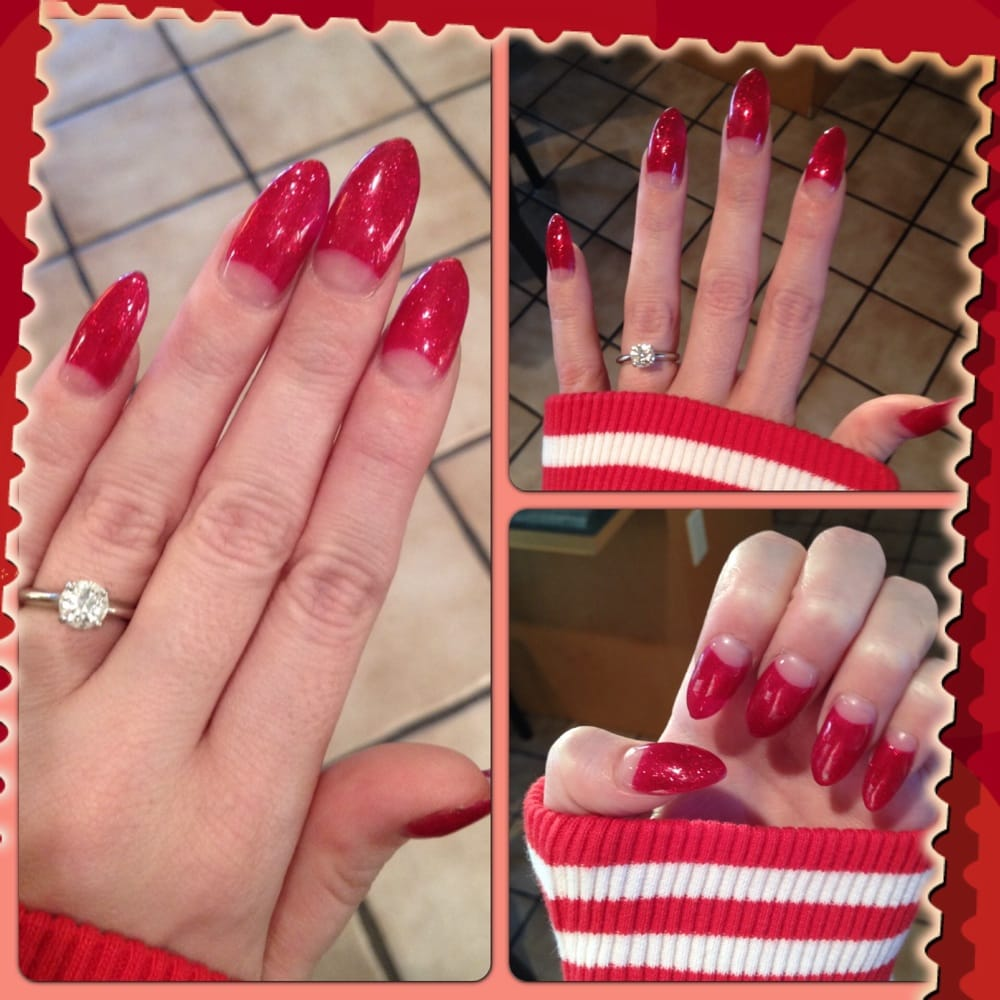 Photo Of Nails By Rubie Dublin Ca United States Stiletto Half