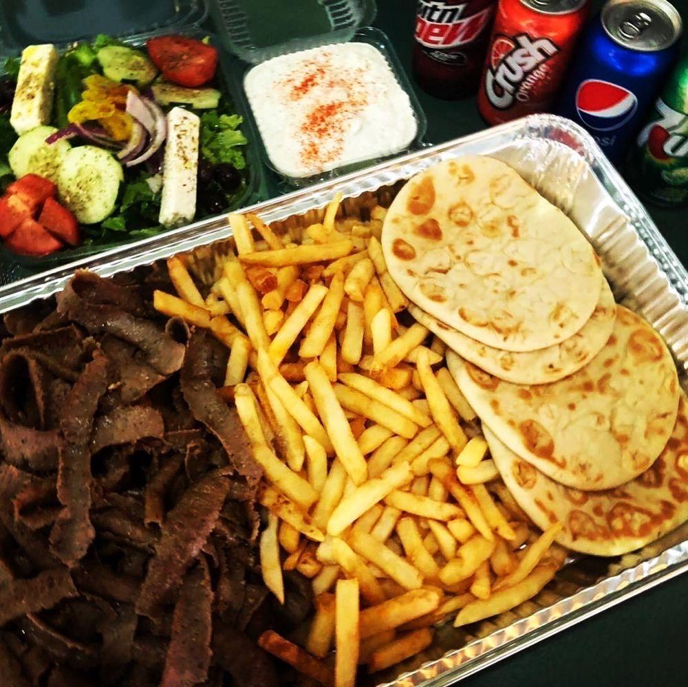 Tzatziki Greek Food Schererville: 332 Indianapolis Blvd, Schererville, IN