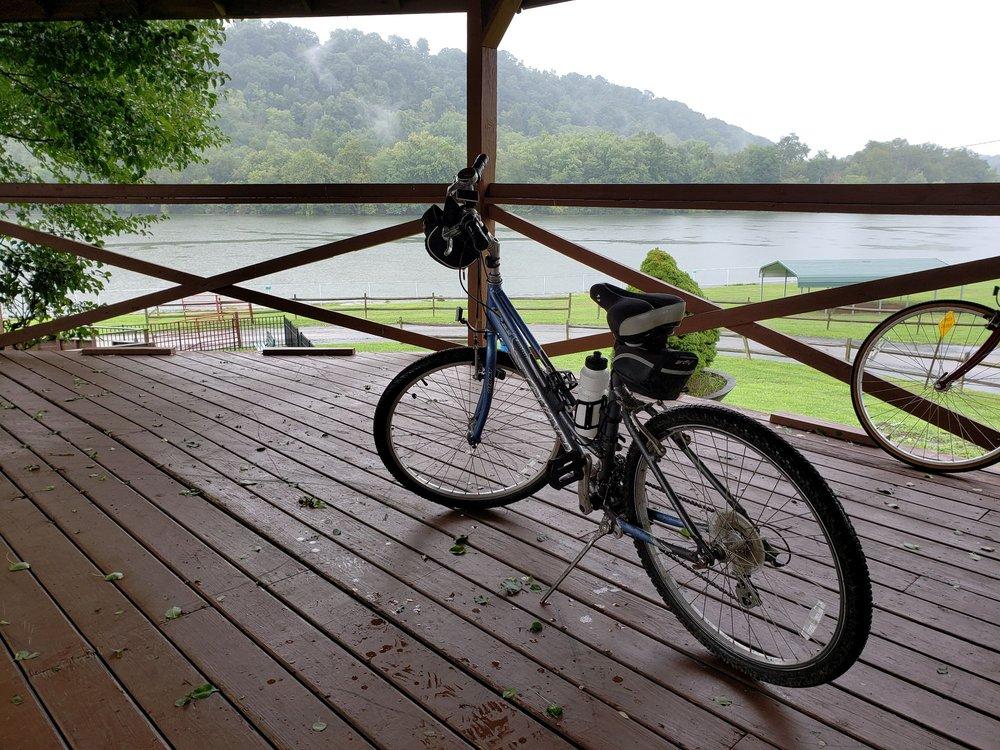 Greene River Trail: Main St, Rices Landing, PA