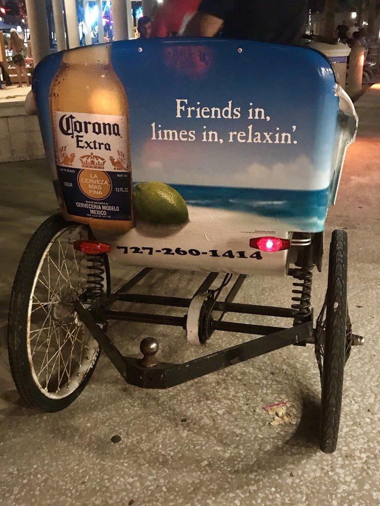 Fun Ride Taxi Pedicab: Clearwater, FL