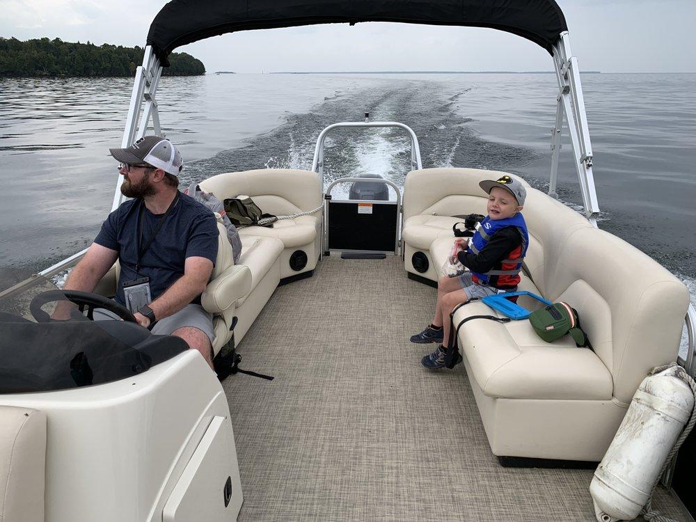 Sister Bay Boat Rental: 10707 N Bayshore Dr, Sister Bay, WI