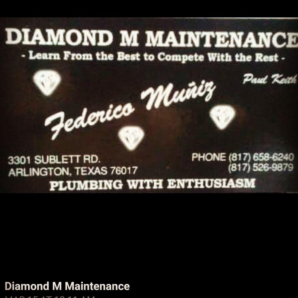 Diamond M Maintenance