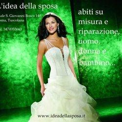 L Idea Della Sposa Brautmode Hochzeitsdeko Viale San Giovanni