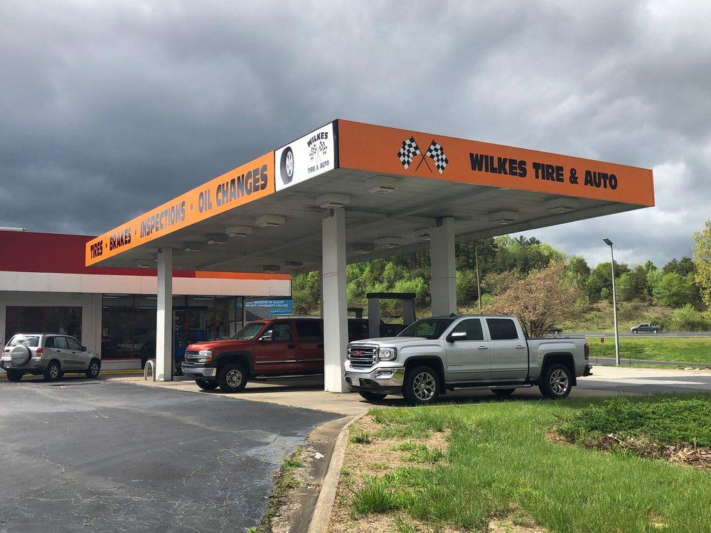 Wilkes Tire & Auto: 1101 River St, Wilkesboro, NC