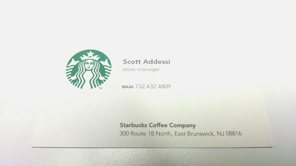 Store manager business card yelp photo of starbucks east brunswick nj united states store manager business card colourmoves