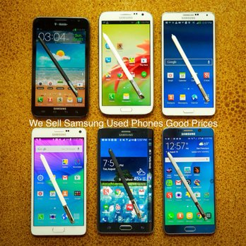 We sell Used Samsung phones - Yelp