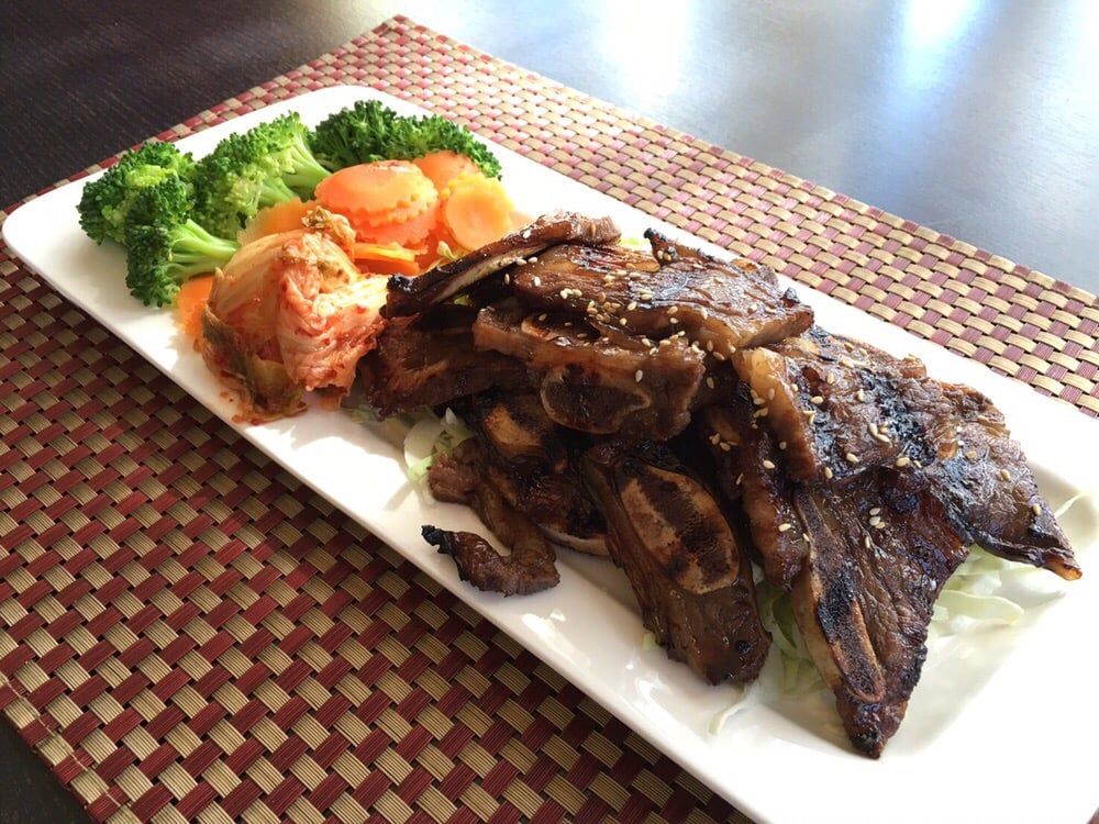 Bbq beef ribs marinated in korean style yelp for 22 thai cuisine yelp
