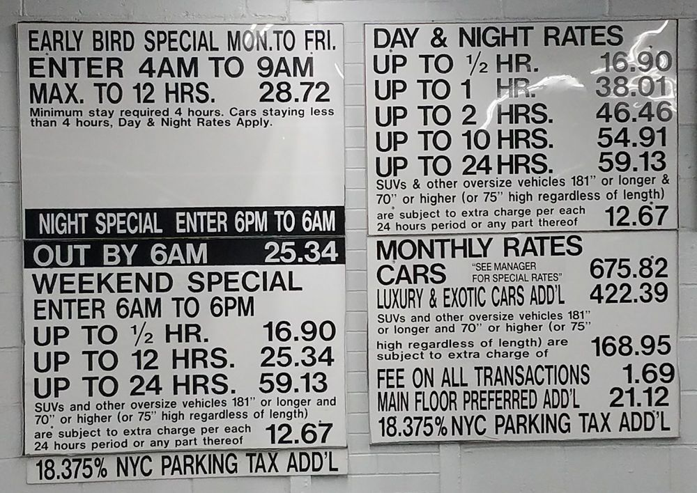 Icon Parking - 17 Reviews - Parking - 350 West 42nd St
