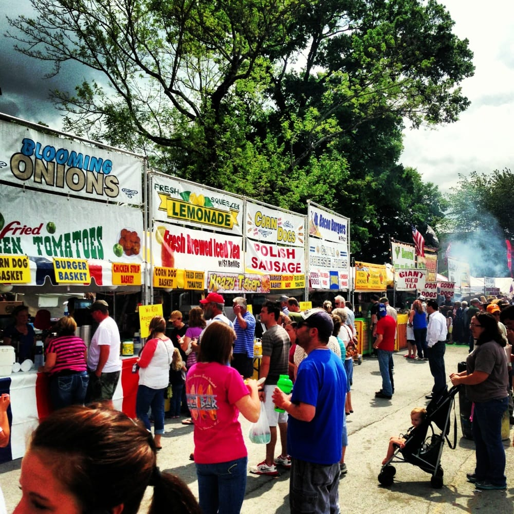 Social Spots from Tennessee Strawberry Festival