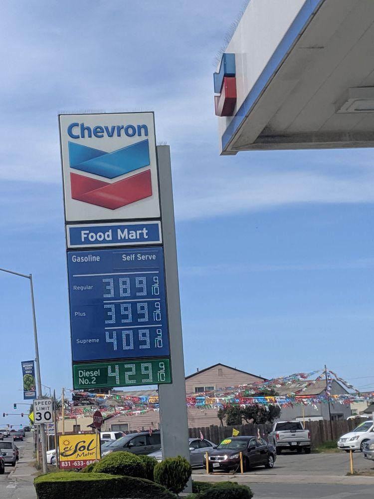 Castroville Chevron: 11601 Merritt St, Castroville, CA