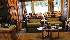 Yellow Rose Cabin: 620 Marceaux Ln, Goodrich, TX