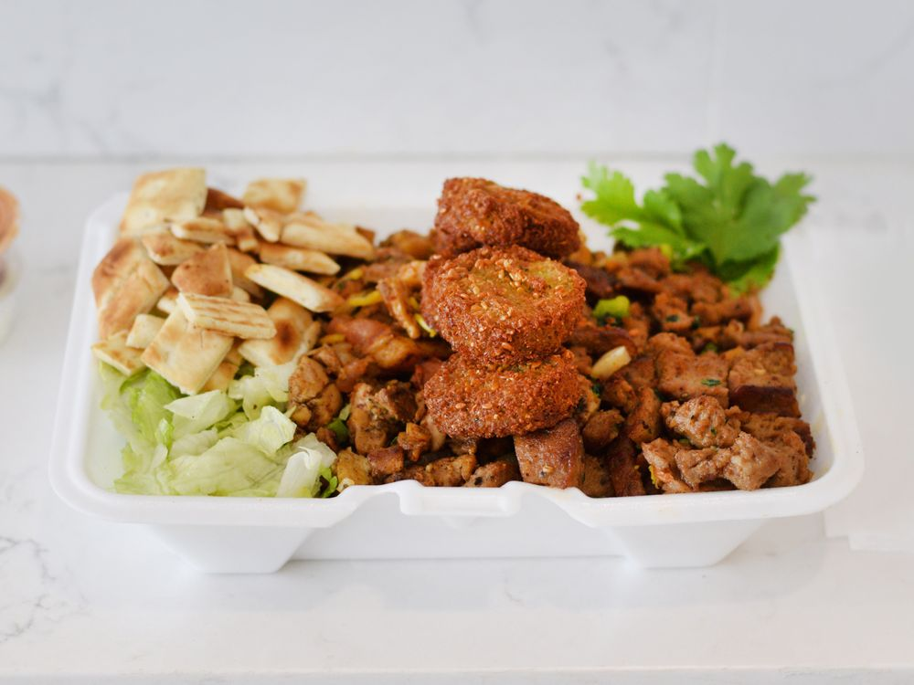 Food from WAVA HALAL GRILL