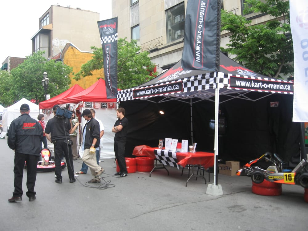 Kart o mania go karting 5196 rue de la savane mont for Go kart montreal exterieur