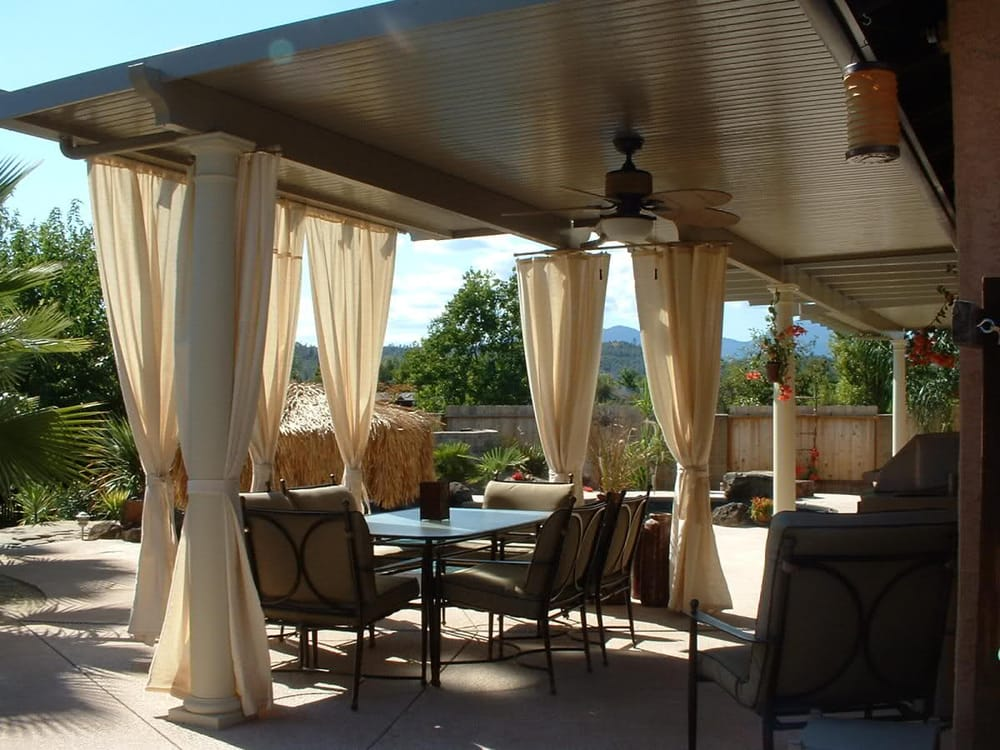 Charmant Photo Of Jeterbuilt Construction   Anderson, CA, United States. Alumawood  Solid Patio Cover