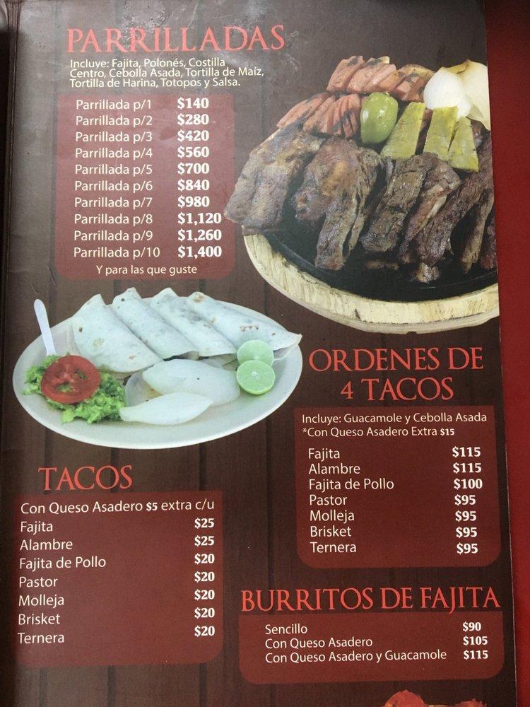 Laredo's Parrillita: Calle 15 de Septiembre 135, Nuevo Laredo, TAM