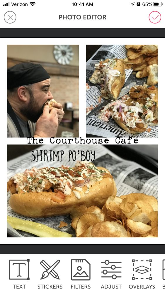 The Courthouse Cafe: 109 S Main St, Portales, NM