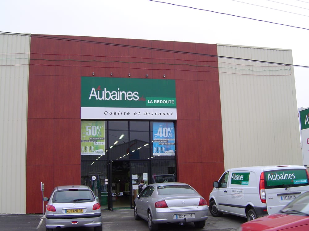 Les aubaines de la redoute shopping 48 rue manoir de servign rennes fr - La redoute france magasin ...
