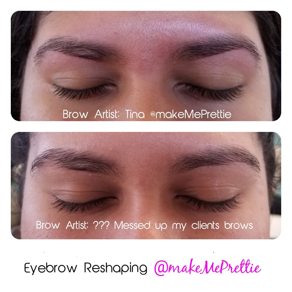 103288af1cd Photo of Make Me Prettie - Inglewood, CA, United States. Eyebrow shaping  brow