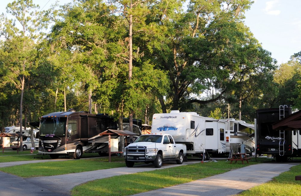 Camper's Holiday Travel Park: 2092 Culbreath Rd, Brooksville, FL