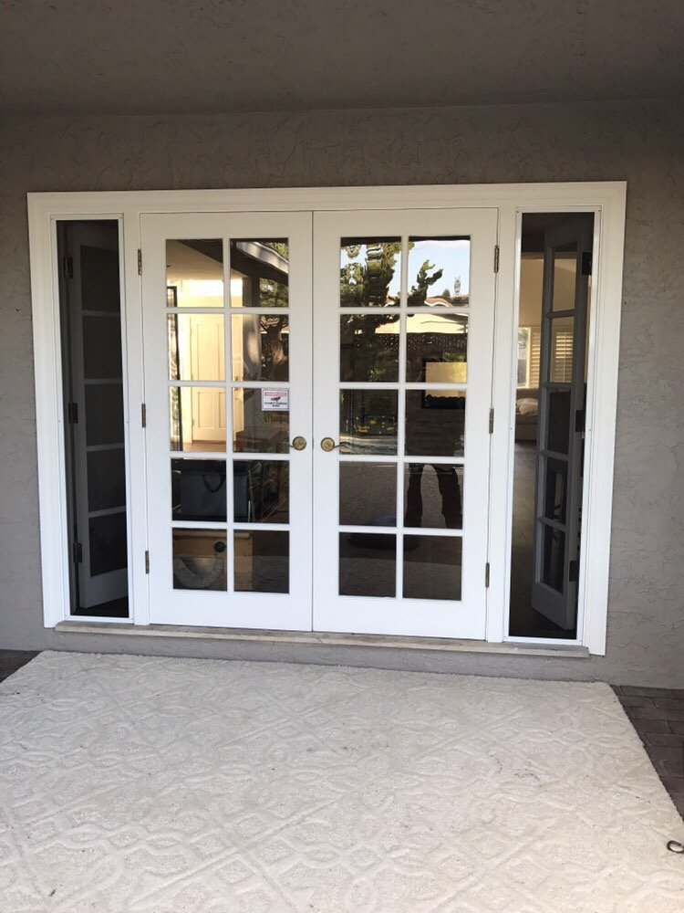 French Door Sidelights With Screens Yelp