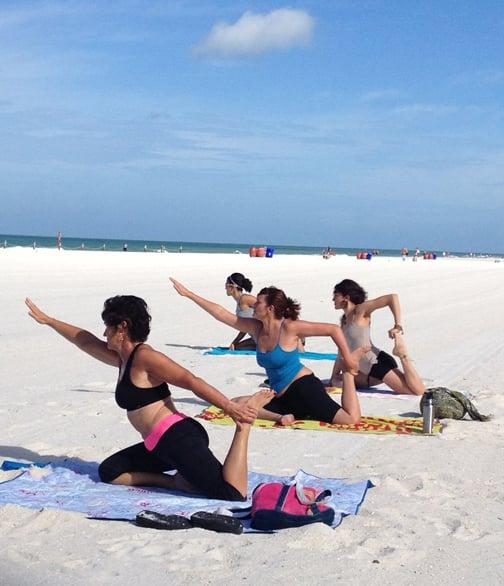Beach Yoga Pinellas: 900 Gulf Blvd, Indian Rocks Beach, FL