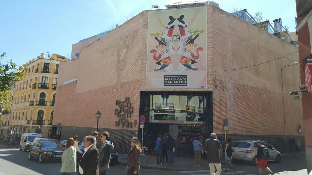 Foto de Mercado de San Antón - Madrid, España