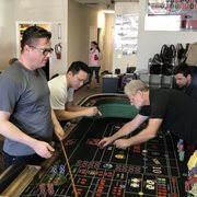 5 students Photo of PCI Dealer School - Las Vegas, NV, United States. Craps dealers