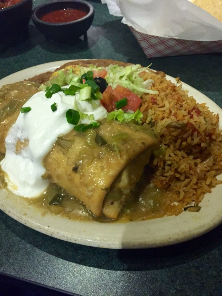 Shredded Beef Chimi With Green Sauce Yelp