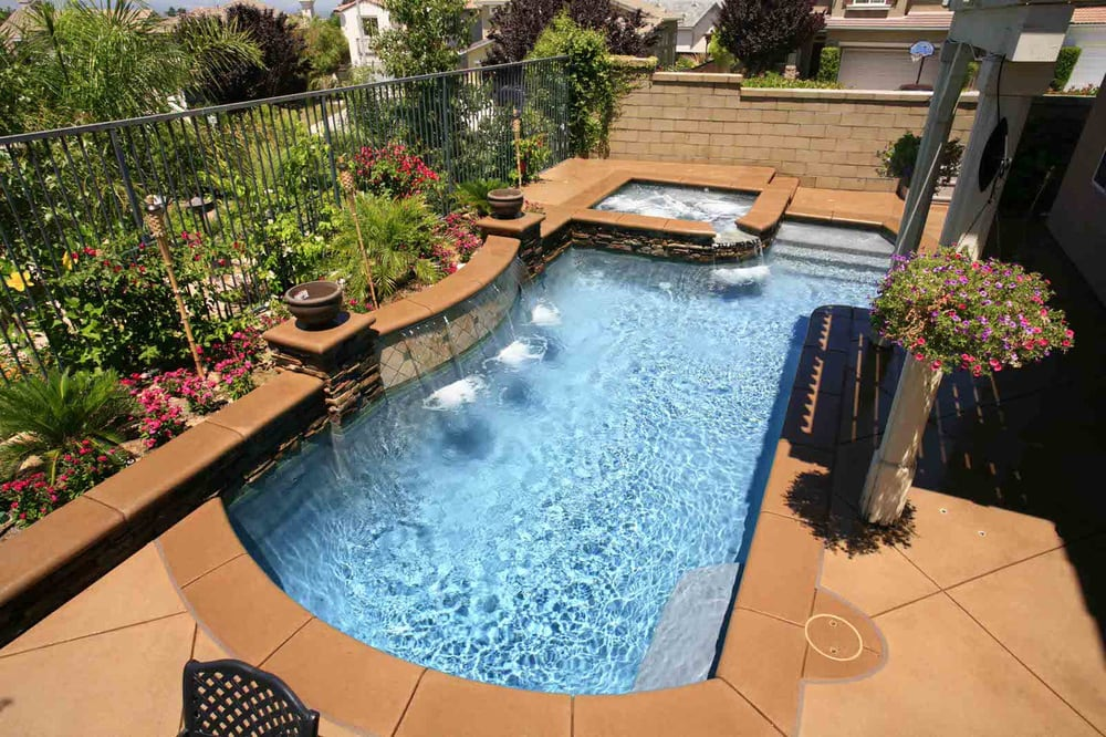 Aqua Clear Pools Pool Cleaners 48 Brazos Ave Mcallen TX Awesome Backyard Pool And Spa Plans