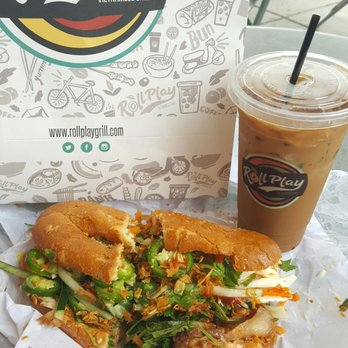 ... Caramelized Pork Eggs-Rated Banh Mi Sandwich with Vietnamese Coffee